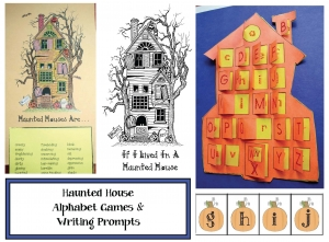 Haunted House Activity Packet