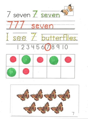 123 Count Butterflies With Me