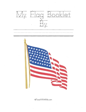 Easy Reader Booklet: My Flag Book