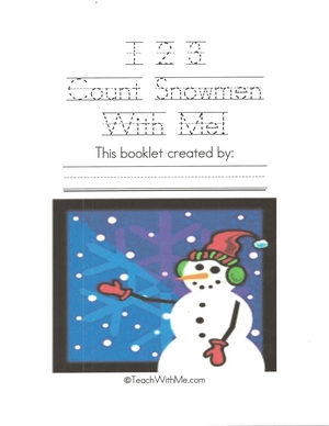 123 Count Snowmen With Me