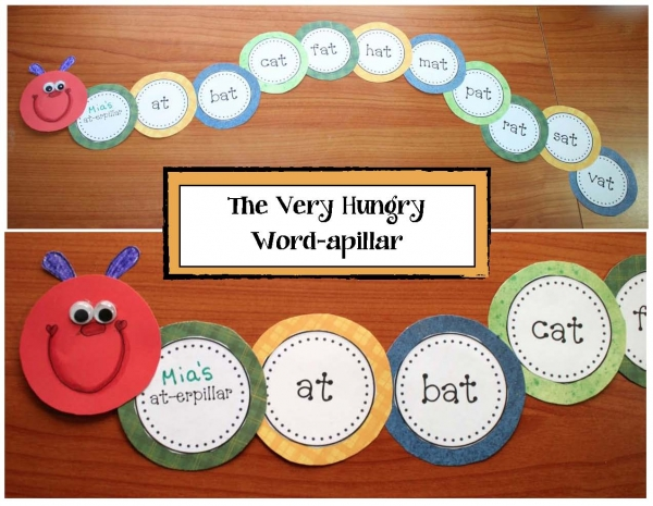 The Very Hungry Wordapillar