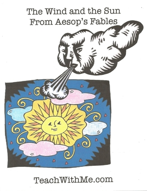 Aesop's Fables The Wind and the Sun